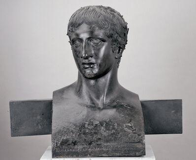 Apollonios of Athens, 'Herm Bust of the Doryphoros', 50-1 B.C.