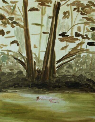 Joe Sola, 'woman in forest', 2015