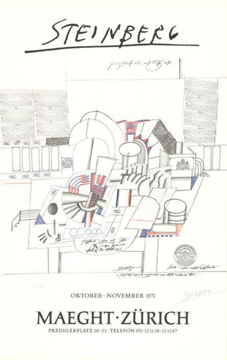 Saul Steinberg, 'Maeght-Zurich', 1971