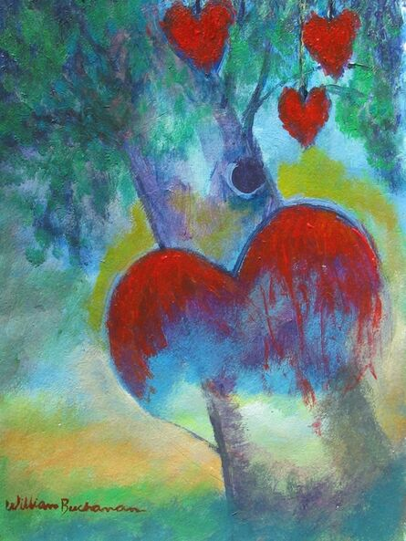William Buchanan, 'Hearts Left Hanging No. 2'