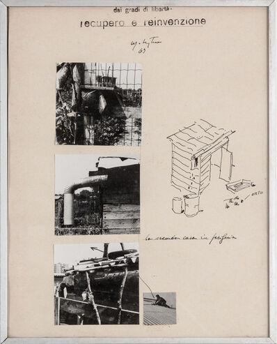 Ugo La Pietra, 'Dai gradi di libertà. Recupero e Reinvenzione. La seconda casa in periferia', 1969