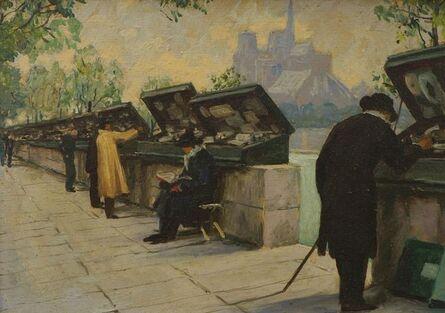 Léo Fontan, 'Les Bouquinistes, Paris'