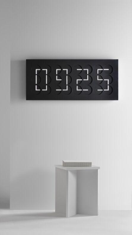Humans Since 1982, 'ClockClock 24, black', 2016