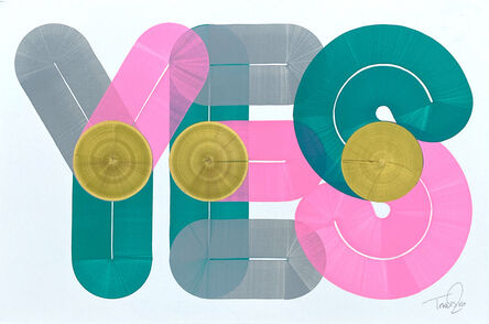 Dave Towers, 'YES 03', 2020