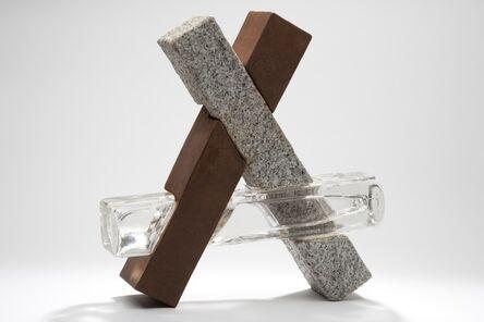 Johannes Von Stumm, 'Crossed Sticks', 2010