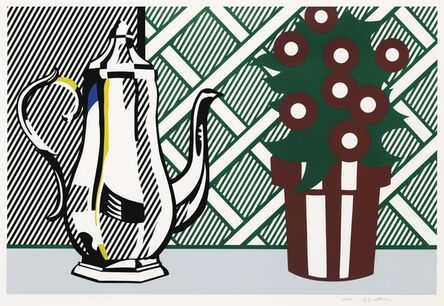 Roy Lichtenstein, 'Still Life with Pitcher and Flowers, from Six Still Lifes series', 1974