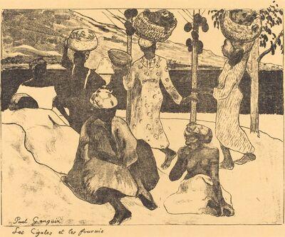 Paul Gauguin, 'Locusts and Ants: A Memory of Martinique  (Les cigales et les fourmis)', 1889