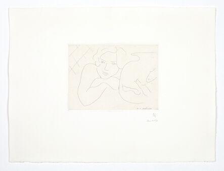 Henri Matisse, 'Jeune fille rêvant près d'un bocal de poissons', 1929