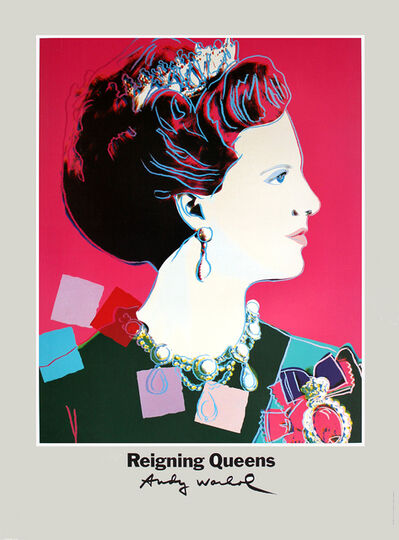 Andy Warhol, 'Queen Margrethe II of Denmark', 1986