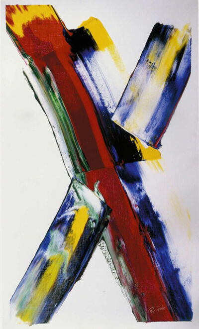 Paul Jenkins, 'Phenomena Check Mate Wind', 1979