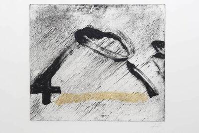 Antoni Tàpies, 'Glissement 1', 1981