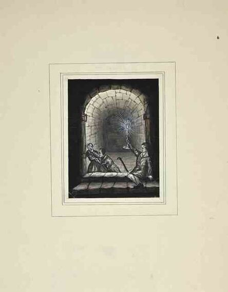 Gustave Jean Jacquet, 'Le Caveau', 1880