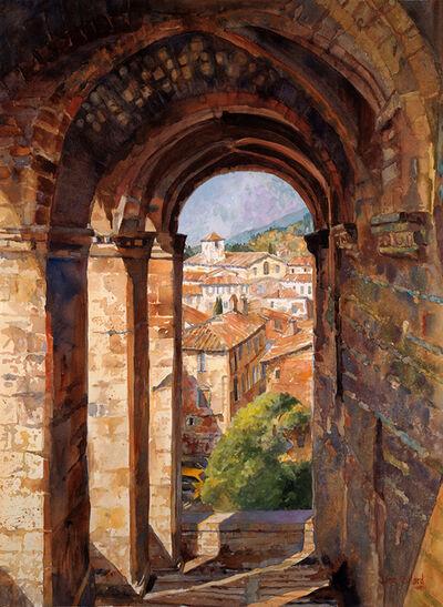 Jann Pollard, 'Montepulciano Shadows', 2010
