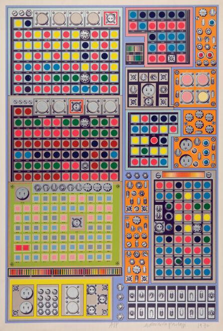 Eduardo Paolozzi, 'Multi-Channel Prototype', 1969-1970