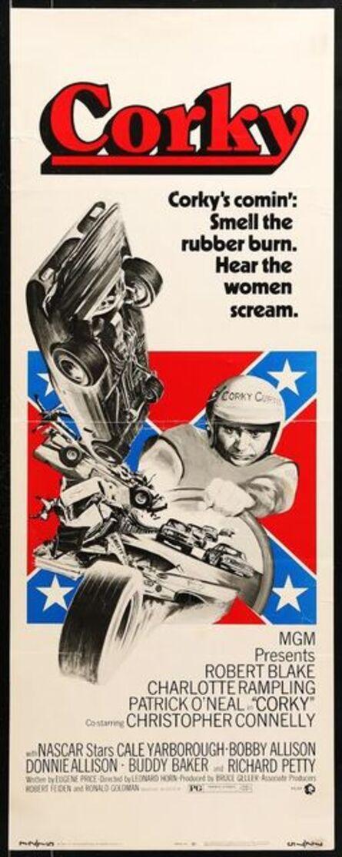 Anon, 'CORKY insert '72 Robert Blake, cool NASCAR stock car racing artwork!', 1972