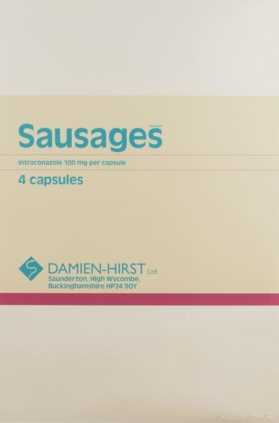 Damien Hirst, 'Sausages (from The Last Supper)', 2005