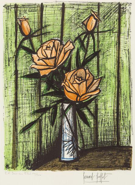 Bernard Buffet, 'roses', 1980