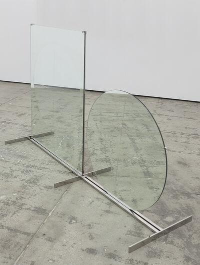 Luciano Fabro, 'Tondo e rettangolo (Circle and Rectangle)', 1964/2004