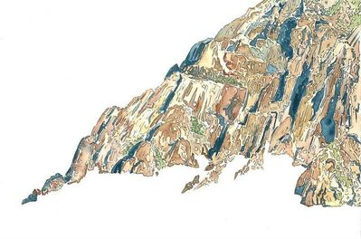 Scott Winterrowd, 'Vernon Bailey Peak, Big Bend National Park', 2013