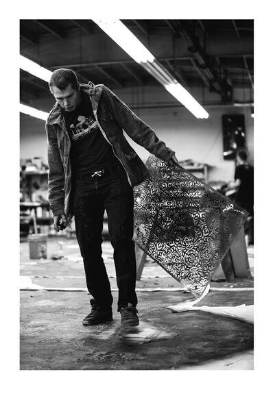 Jon Furlong, 'Shep Stencil', 2015