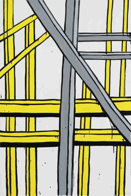 Jasper Knight, 'Fremantle Port (yellow)', 2014