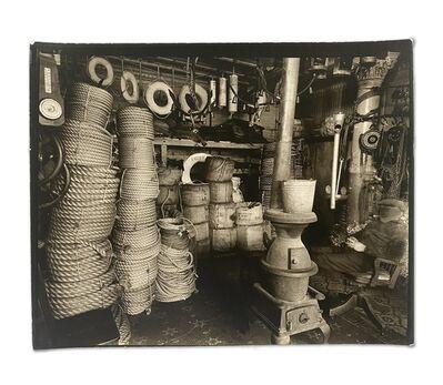 Berenice Abbott, 'Rope Store, Peerless Equipment Co. 189 South Street, Manhattan, February 5', 1936