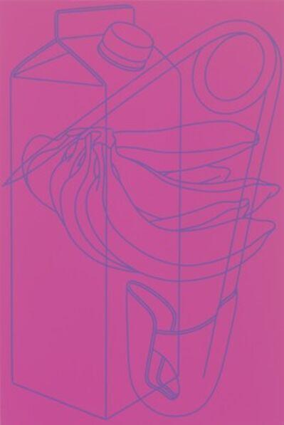 Michael Craig-Martin, 'Untitled (magenta/purple)', 2009