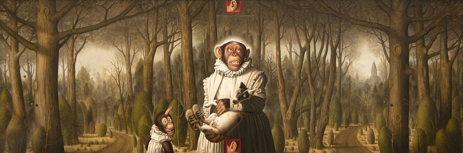 Donald Roller Wilson, 'Looking For the Virgin in the Woods (What Is a Mother to Do With the Children Acting Bad)', 1993