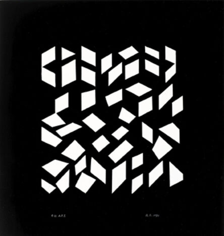 Anni Albers, 'Orchestra III', 1980
