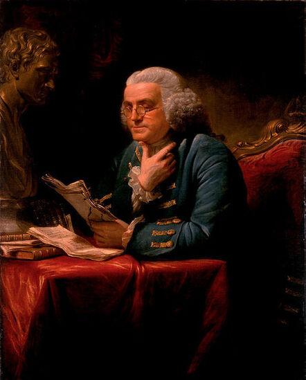 David Martin, 'Benjamin Franklin', 1767