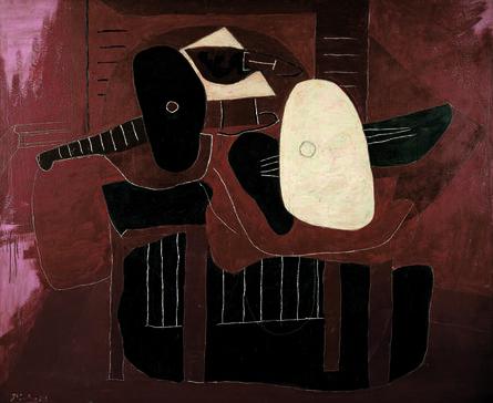 Pablo Picasso, 'Instruments de musique sur une table (Musical Instruments on a Table)', 1926