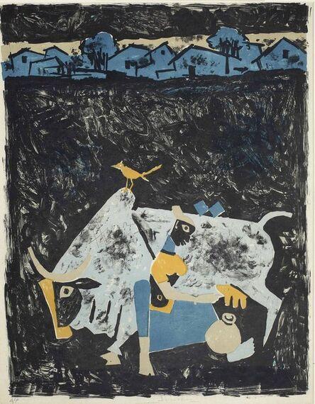 Maqbool Fida Husain, 'Untitled'