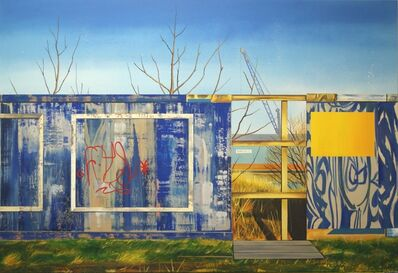 Ross Brown, 'Ocean Drive (Shed no.3) ', 2017