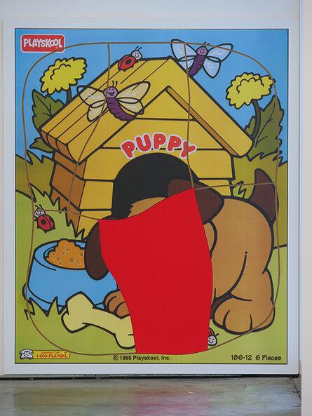 Matt Keegan, 'Puppy Puzzle (One)', 2019