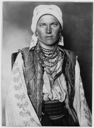 Augustus F. Sherman, 'Ruthenian Woman from the former Kingdom of Ruthenian, which once covered an area from Ukraine to northern Romania'