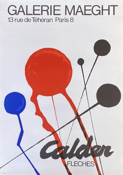 Alexander Calder, '1970s Alexander Calder exhibition poster (Alexander Calder prints) ', ca. 1970