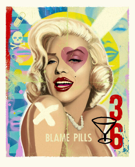 Lucky Amour, 'Blame Pills', 2018