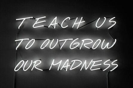 Alfredo Jaar, 'Teach Us to Outgrow Our Madness', 1995