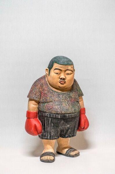 Kim Won Geun, 'Angry Boxer', 2018