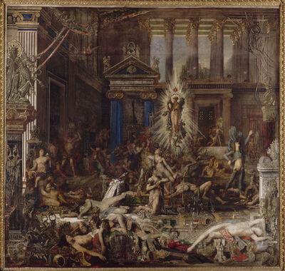 Gustave Moreau, 'Les Prétendants (The Pretenders)', 1852-1882