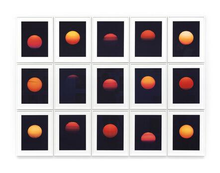 """Thomas Weinberger, '-09° 18' 53,77"""" +48°53' 27,39""""', 2012"""