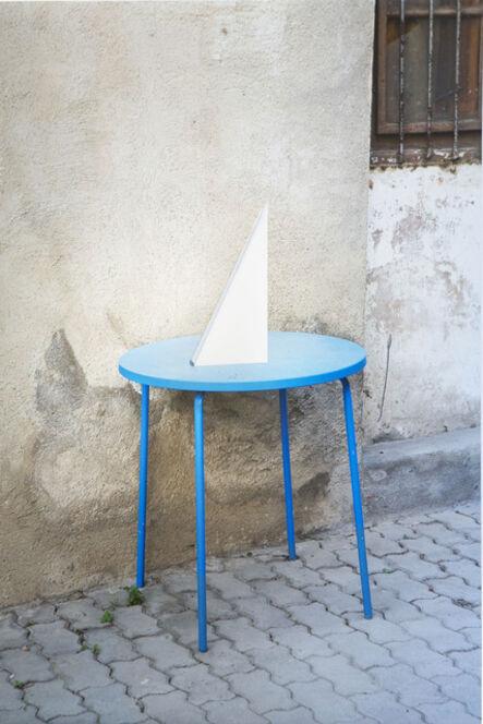 Alberto Peral, 'Mesa azul', 2014