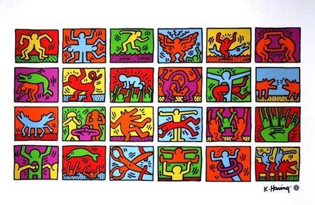 Keith Haring, 'Retrospect', 1989-1993
