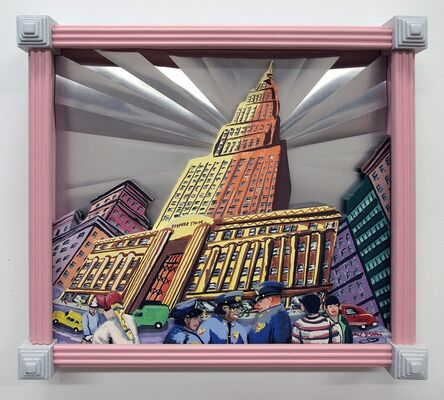 Red Grooms, 'Empire State Building', 1997