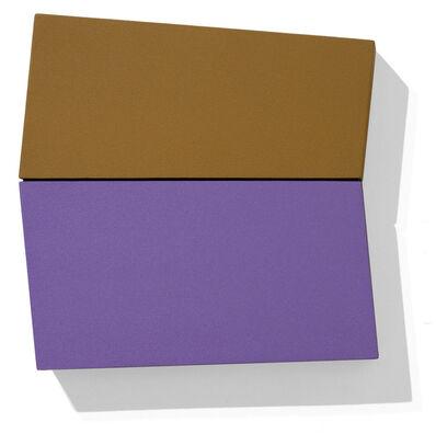 Ronald Davis, 'Lavender and Ochre Lean', 2009