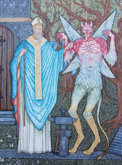 Joe Machine, 'Saint Dunstan and The Devil', 2020