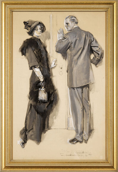 Howard Chandler Christy, 'Original Magazine Story Illustration', 1911