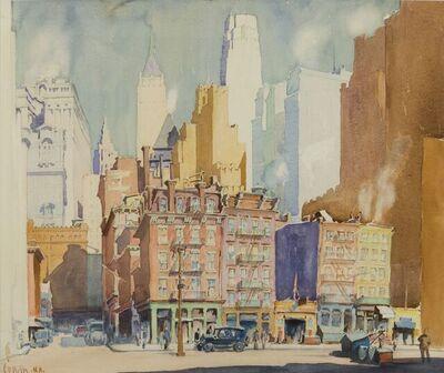 Ernest David Roth, 'Downtown, New York City', ca. circa 1941