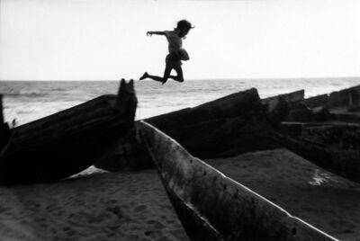 Martine Franck, 'The beach at Puri, Orissa, India', 1980