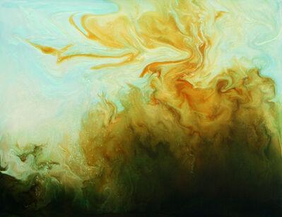 Suzan Woodruff, 'LITTLE CRESTED GOLD WAVE', 2009